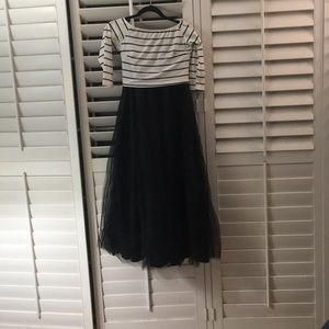 Dresses & Skirts - cropped off the shoulder top w/ tulle skirt